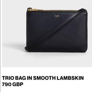 Celine Trio Bag in Smooth Lambskin